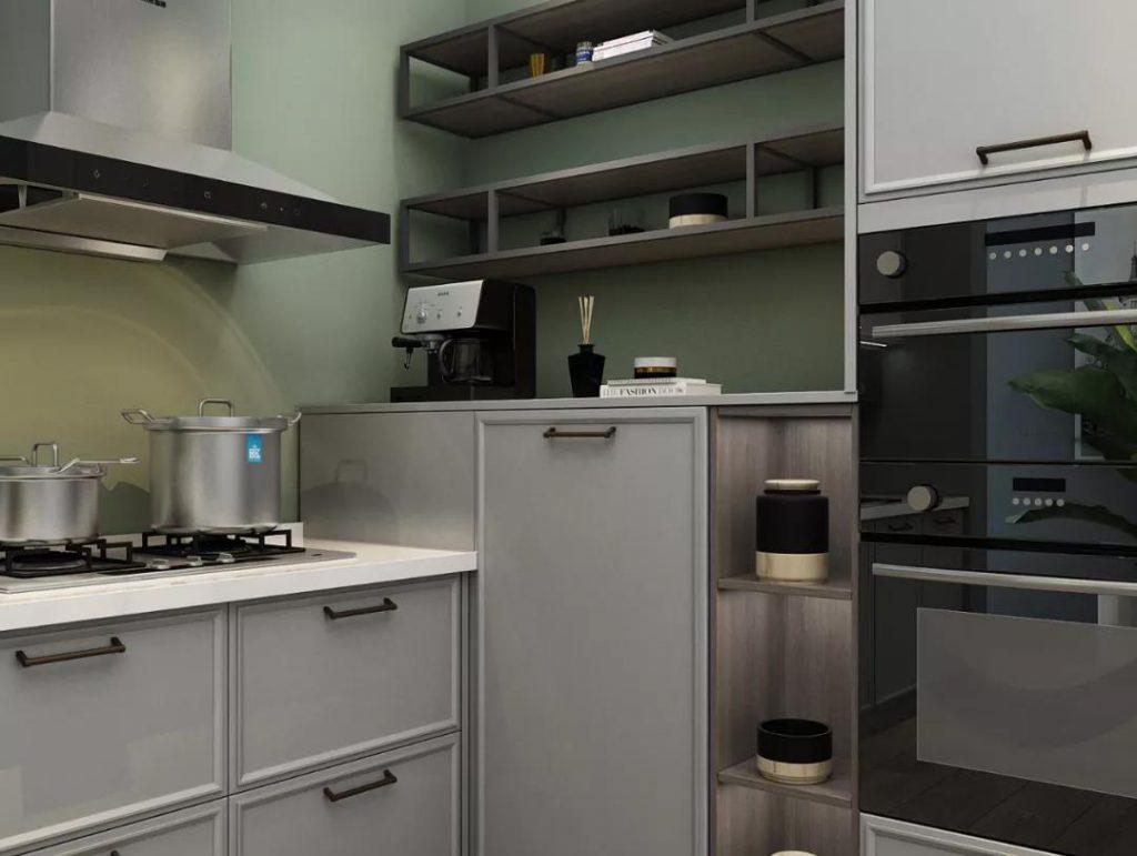 厨房配色NO.1,经典永不过时-柏豪但丁家居-衣柜-全屋定制-高端定制品牌-舒适居家-乐享生活